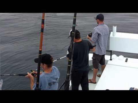 Catching rockfish on a Santa Barbara Sportfishing Charter trip