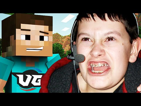 THE RAGE IS REAL IN MINECRAFT! (Kid Trolling) - YouTube