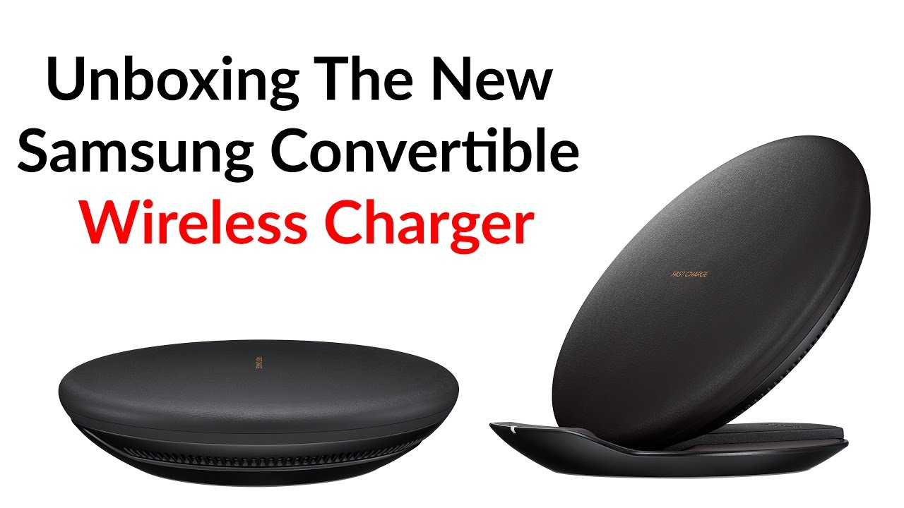 unboxing the new samsung convertible wireless charger youtube. Black Bedroom Furniture Sets. Home Design Ideas