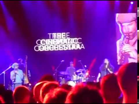 The Cinematic Orchestra - All that you give Live @ Niarhos Athens