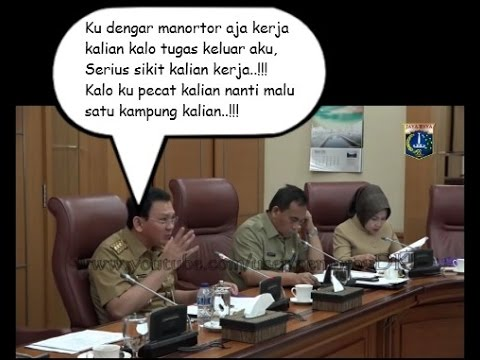 Begini Pesan Ahok Buat Orang Batak Yang Kerja di Pemprov DKI Jakarta..!!!