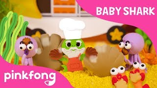 Hot Clam Buns | Baby Shark Clay | Pinkfong Clay | Pinkfong Songs for Children