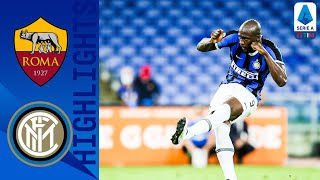 Roma 2-2 Inter | Late Lukaku Penalty Earns Point For Inter! | Serie A TIM