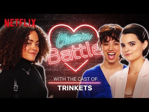 The Trinkets Cast Try Out Their Best Pick-Up Lines | Charm Battle | Netflix