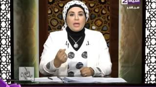 بالفيديو| نادية عمارة: أخذ راتب الزوجة