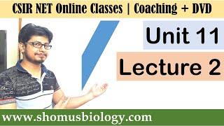 CSIR NET life science lectures - Unit 11 Lecture 2