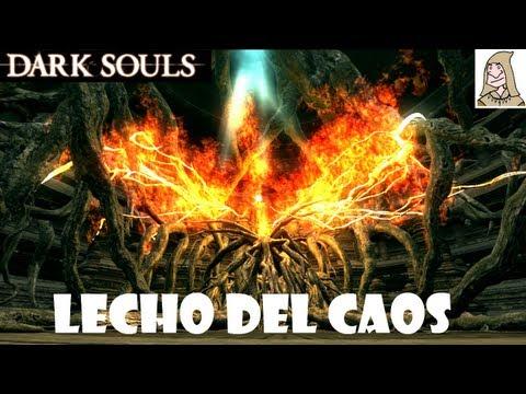 Dark Souls guia: LECHO DEL CAOS - Como matar al jefe de Izalith perdida || EP.41