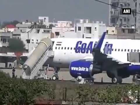 GoAir flight makes emergency landing in Nagpur after bomb scare