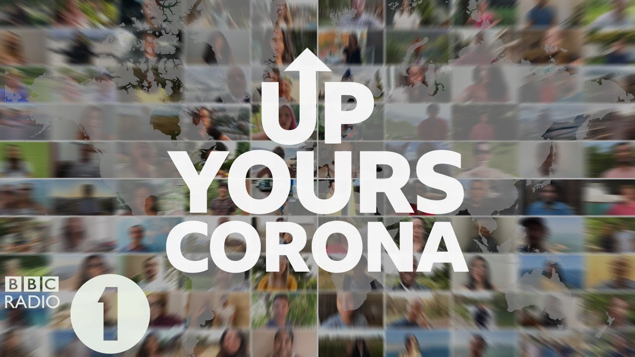 The World Says Up Yours Corona