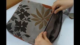 Kumaş Çanta Dikimi Nasıl Yapılır? - How to sew a fabric bag? | Dikiş Hocam