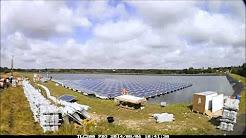 Floating Solar Panels - Sheeplands Farm, Berkshire, UK