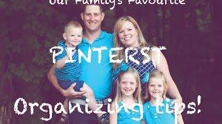 Favourite Pinterest Organizing Ideas