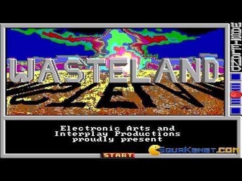 Wasteland gameplay (PC Game, 1988)