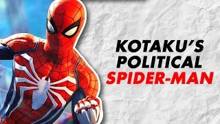 Spider-Man PS4 is Not Political Enough For Kotaku.