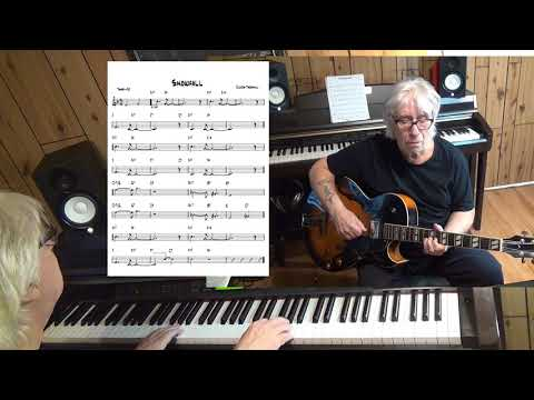 Snowfall - Jazz guitar & piano cover ( Claude Thornhill )