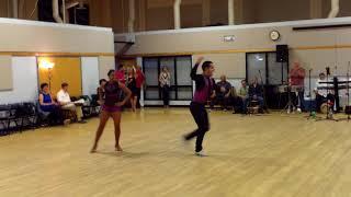 Central Jersey Dance Society Salsa Sensation Salsa Performance by Fusion Salsera on 6-2-18