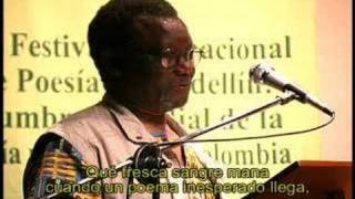 Acerca del poema de David Constantine (Jack Mapanje, Malawi)