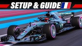 F1 2018 Setup + Streckenguide | Paul Ricard, Frankreich GP | Formel 1 Tutorial Deutsch German