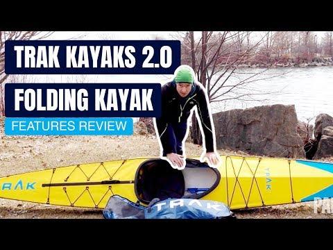 TRAK Kayaks 2.0 Folding Kayak | Portable Touring Kayak | Specs & Features Review And Walk Around