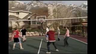 SnapSports® - Outdoor Basketball Courts - Backyard  Court - Home Game Courts