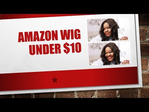 Amazon Wig Review | Rosa Star, Cheap, Big Head Friendly | The Diva Pain Warrior