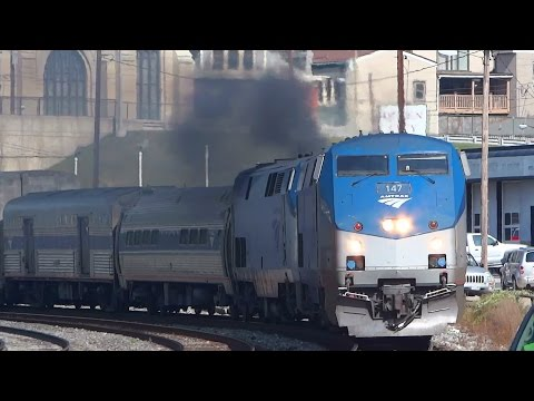 Amtrak Smoking In Cumberland, MD