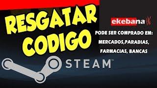 Como resgatar código da Carteira Steam - ATIVAÇÃO NA HORA