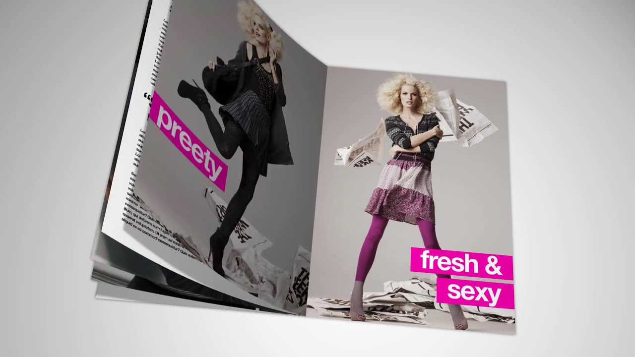 Magazine After Effects Templates
