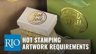Hot Foil Stamping Artwork Requirements