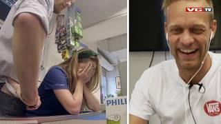 Skjult kamera: Mads Hansen fjernstyrer Ida Fladen