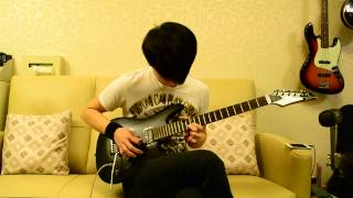 X Japan-Tears guitar cover (with lyrics)