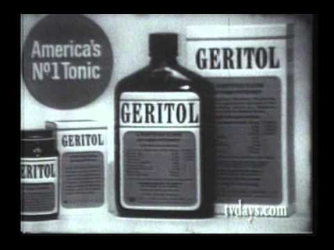 geritol america 39 s number one tonic youtube. Black Bedroom Furniture Sets. Home Design Ideas