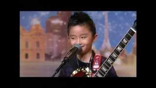 Jeremy Yong - Kid Guitarist - Australia
