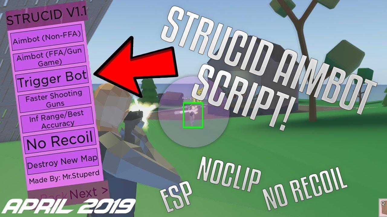 STRUCID AIMBOT SCRIPT APRIL 2019!! 😂 | AIMBOT | ESP ...