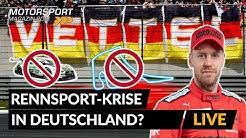 Kein deutscher Fahrer in der Formel 1?