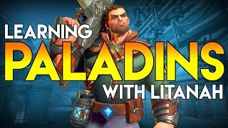 Learning Viktor Abilities in Paladins - Open Beta 54 Ice and Gunfire - Includes Tutorial