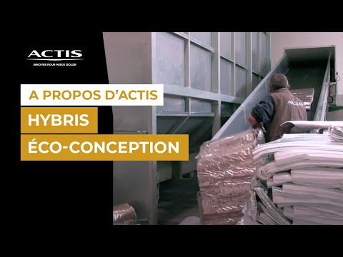 ACTIS Fabrication de l'isolant alvéolaire HYBRIS