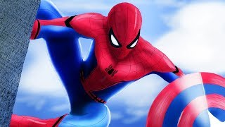 Spiderman's Homecoming Animation - Avengers Movie for Kids (English - Disney Infinity)