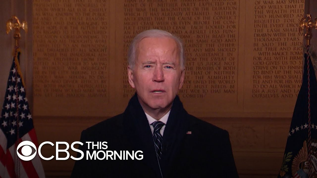Biden begins first full day in Oval Office after historic inauguration
