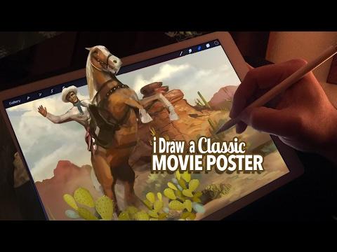 Hobie Doyle & Carlotta Valdez - Classic Movie Poster Art