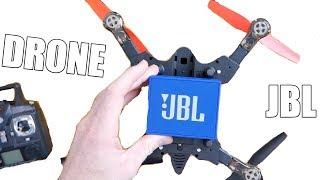 ПРОКАЧАЛ JBL GO НА КВАДРОКОПТЕРЕ l DRONE TEST