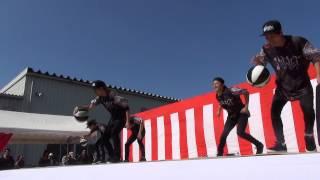 松飛台祭りでのフラジャイルその3 FRAGILE ダンス.