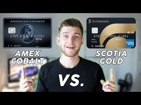 NEW Scotiabank Gold American Express Credit Card REVIEW Vs. American Express Cobalt Card