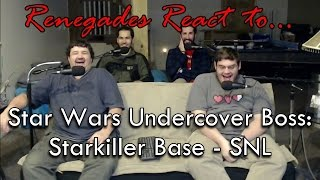 Renegades React to... Star Wars Undercover Boss: Starkiller Base - SNL