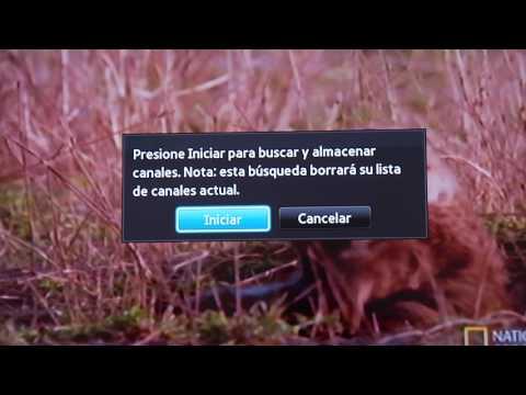COMO SINTONIZAR TUS CANALES EN TELEVISORES SAMSUNG