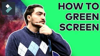 How To Use a Green Screen | Filmora Tutorial