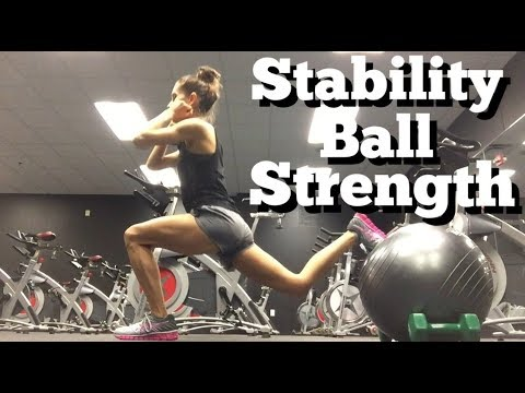 5 Minute Stability Ball Workout