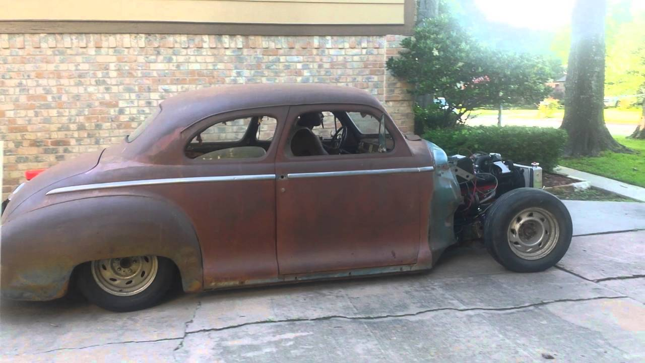 1948 Plymouth Ratrod Youtube