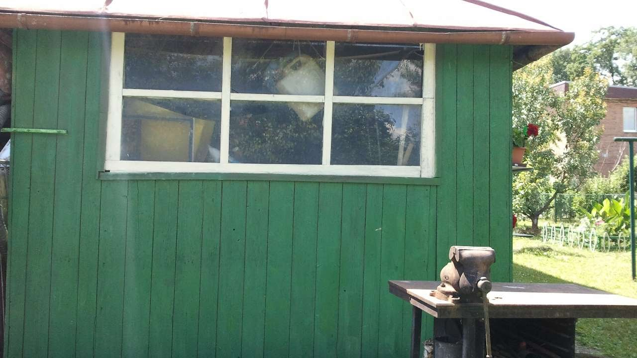 How To Paint A Garden Shed - DIY Home Tutorial - Guidecentral - YouTube