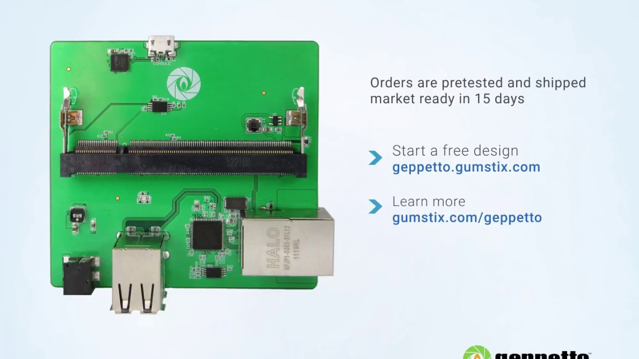 Design and Build your custom Raspberry Pi board with Geppetto